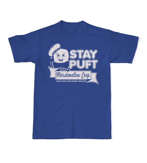 Stay Puft Marshmallow Corp Ghostbusters 1984 T-shirt