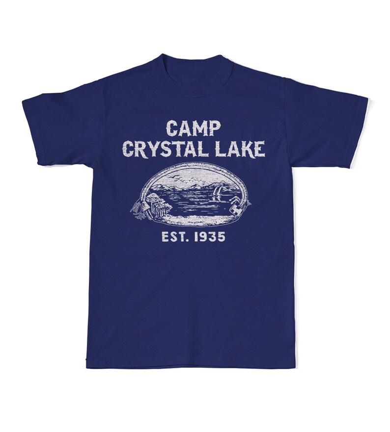 aeea5b481115 Camp Crystal Lake T-Shirt Friday The 13th T-Shirts Jason
