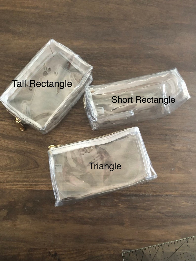Clear Travel Pouches for Essential Oils