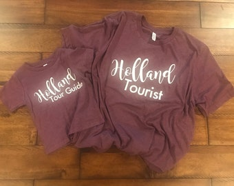 Mommy & Me - Welcome to Holland Tee Shirts