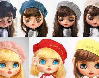 Blythe beret cap for blythe doll neo blythe beret 54e481a13f2