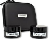 Formline 50 ML Smell Proof Glass Herb Jars and Travel Case