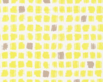 Pocket Patch Yellow - Around The Block Cloud9 Fabrics