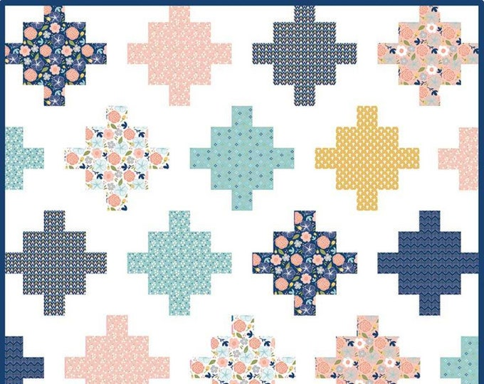 Azure Skies Quilt Pattern by Simple Simon & Company