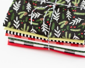 Comfort and Joy Christmas Curated FQ Bundle