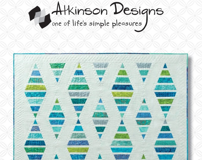 Sugar Sand Beach Quilt Pattern by Atkinson Design