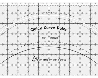 Quick Curve Ruler, by Sew Kind of Wonderful