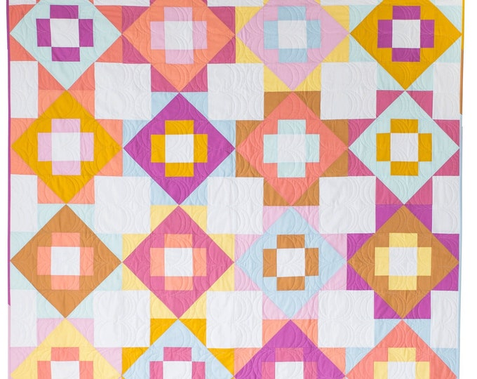 Meadowland Quilt, by Meghan Buchanan of Then Came June