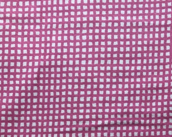 Flannel Pink Grid by Riley Blake