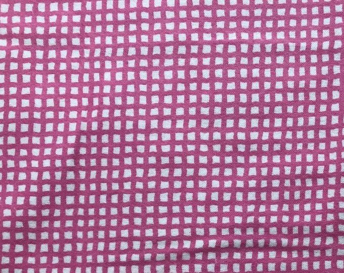 Flannel Pink Grid by Riley Blake