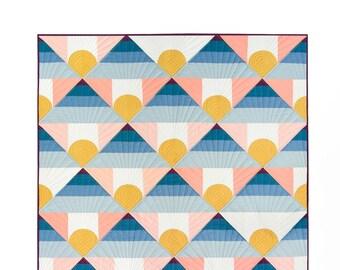 Mountain Horizon by Lo & Behold Stitchery