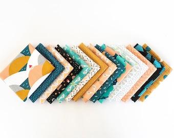 Special Delivery Fat Quarter Bundle, by Lemonni for Figo Fabrics