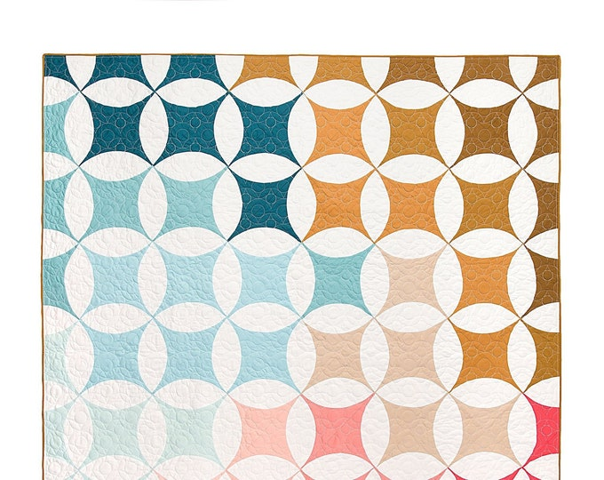 Shades of Citrus Quilt by Lo & Behold Stitchery