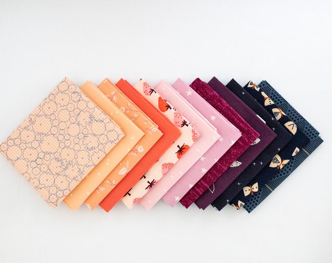 Butterflies and Berries - Curated Fat Quarter Bundle