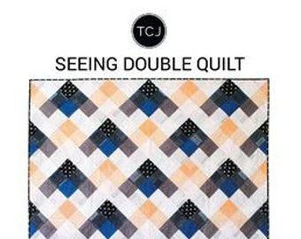 Seeing Double Quilt Pattern by Meghan Buchanan
