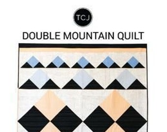 Double Mountain Quilt Pattern by Then Came June