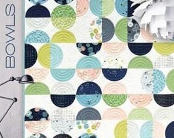 Bowls Quilt Pattern by Brigitte Heitland for Zen Chic