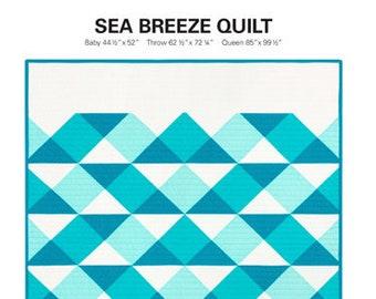 Sea Breeze Quilt by Initial K Studio