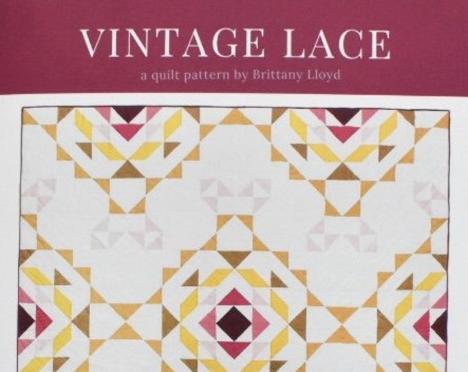 Vintage Lace by Lo & Behold Stitchery