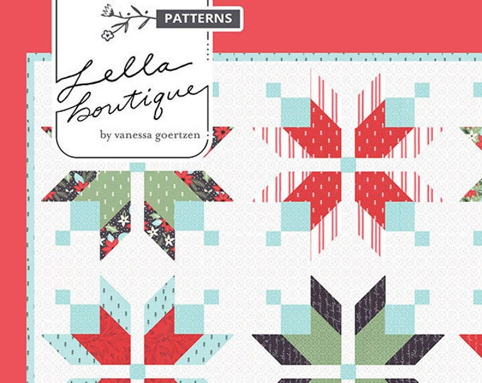 Icebox Quilt Pattern by Lella Boutique