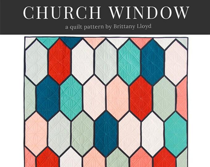 Church Window by Lo & Behold Stitchery