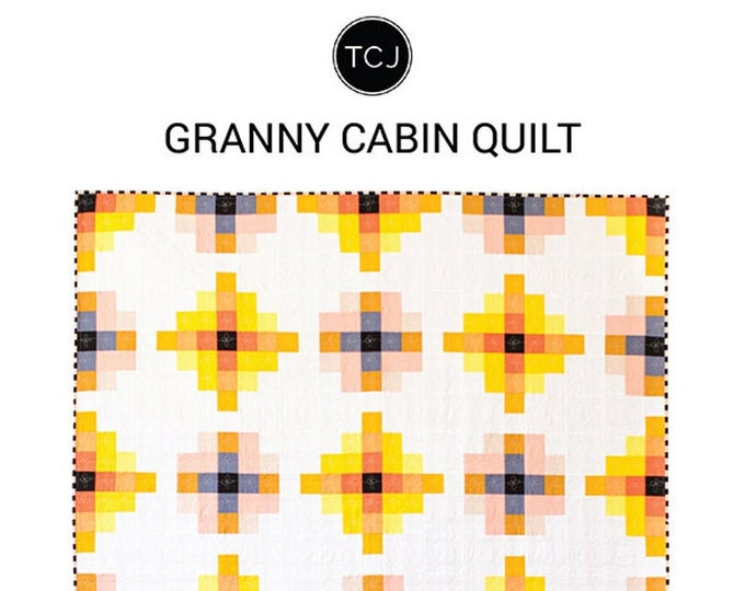 Granny Cabin Quilt Pattern by Meghan Buchanan of Then Came June.