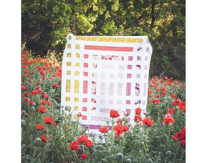 Mackintosh Quilt Pattern - PDF Digital Download - by Taren Studios