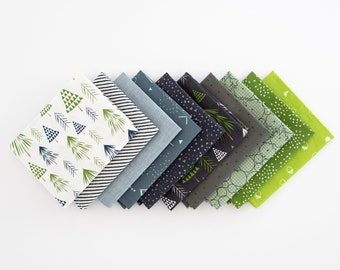 Evergreen Curated FQ Bundle - 10 patterns