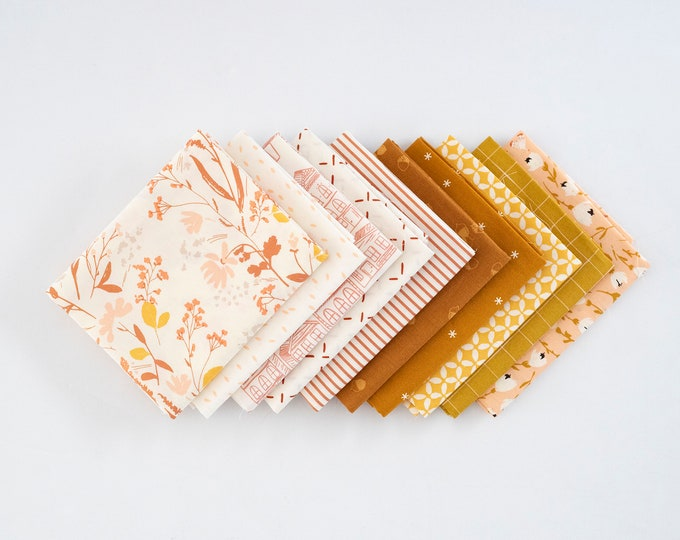 Falling For You Curated Fat Quarter Bundle