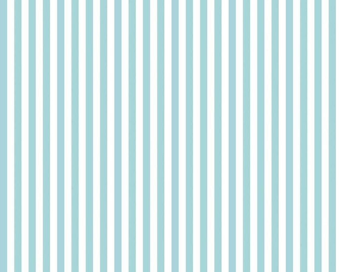 "1/4"" Stripe Aqua Teal for Riley Blake Designs"