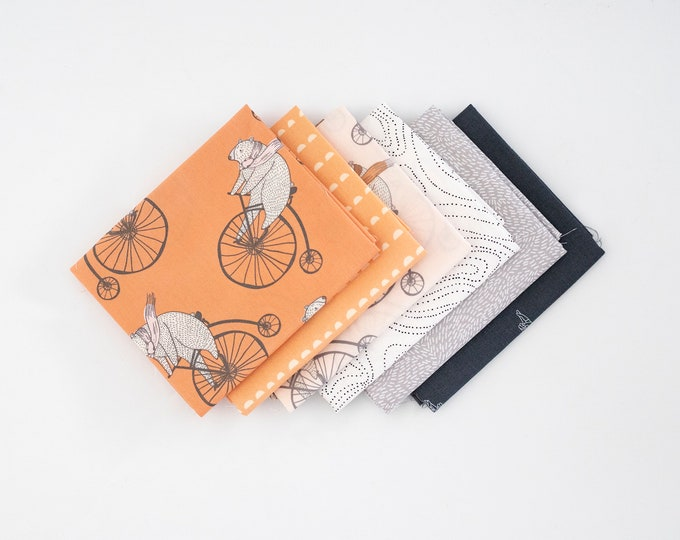Bears on Bikes - Curated Fat Quarter Bundle