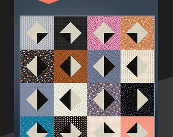 Obelisk Quilt Pattern by Kimberly Kight for Ruby Star Society