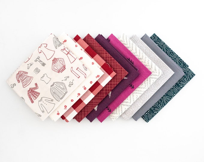 Sweater Weather Curated bundle - 10 fat quarters