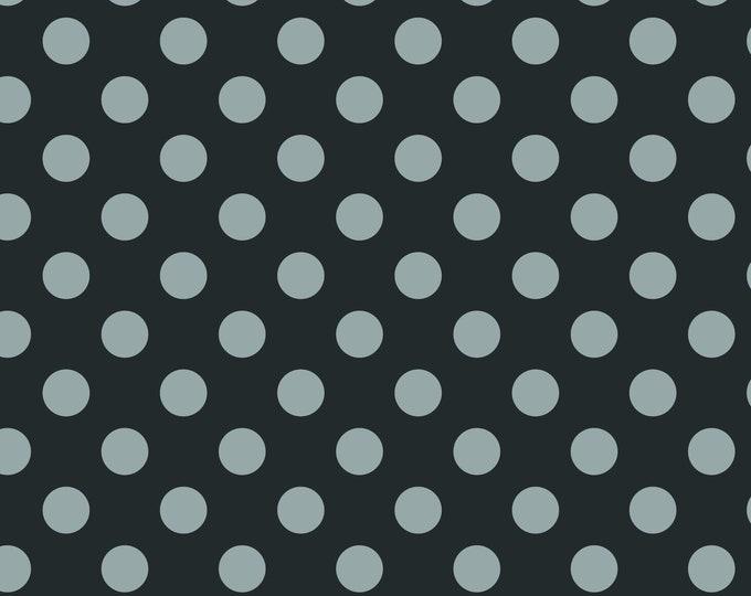 Medium Dot Black Hollywood Sparkle, by Riley Blake Designs