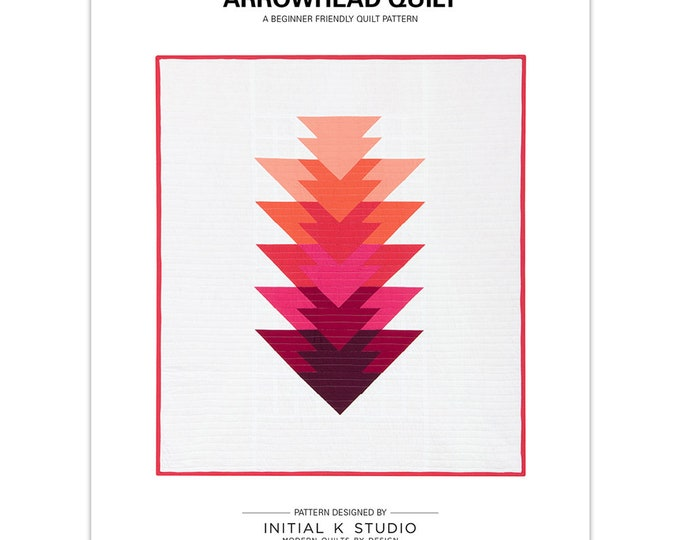 Arrowhead Quilt by Initial K Studio