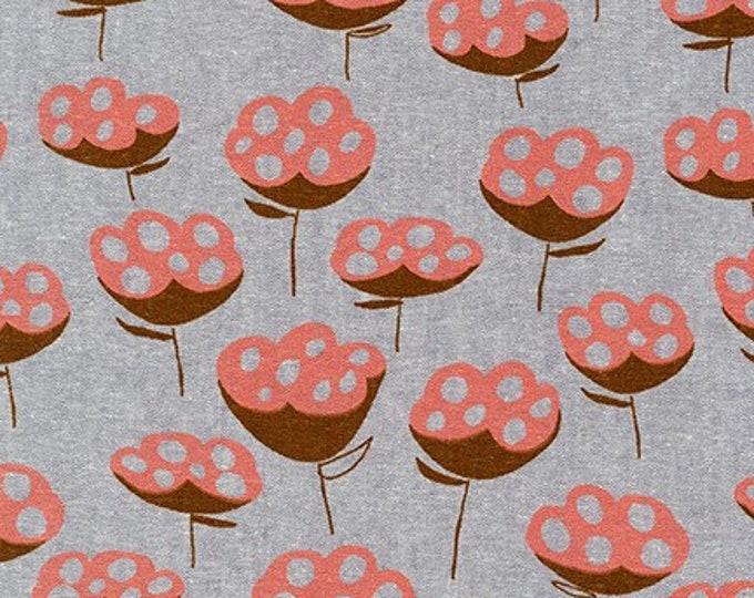 STEEL Linen/Cotton by Anna Graham from Driftless for Robert Kaufman Fabrics