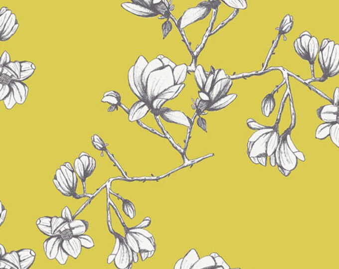 Magnolia Study Zest from Wild Bloom designed by Bari J. for AGF