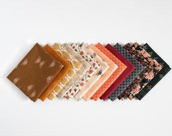 Golden Petals Bundle - 13 piece FQ curated bundle