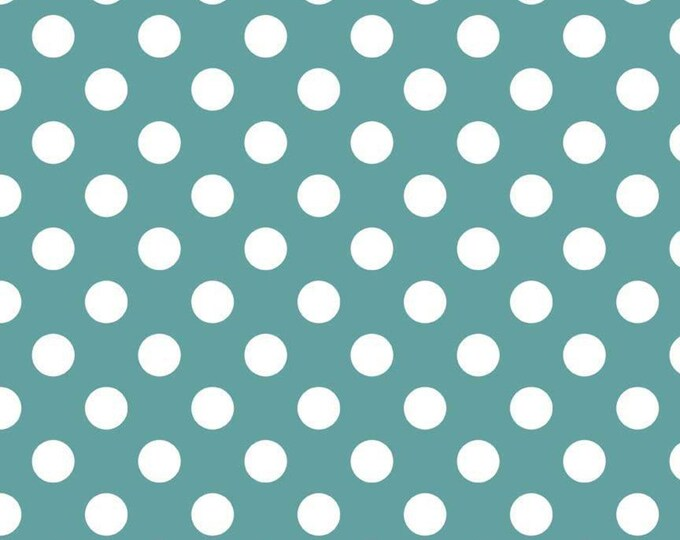 Medium Dots Teal, by Riley Blake Designs