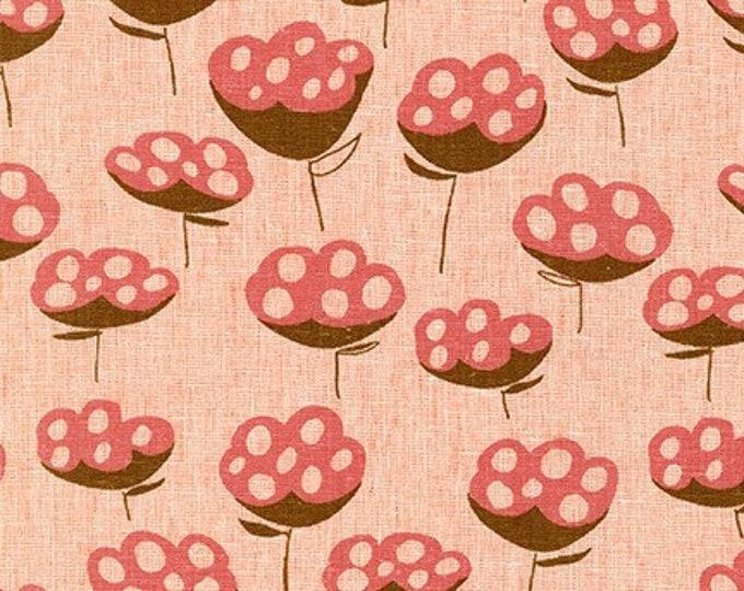 ORANGEADE  Linen/Cotton by Anna Graham from Driftless for Robert Kaufman Fabrics