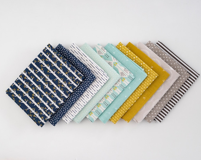 Middle of the Woods - Curated Fat Quarter Bundle