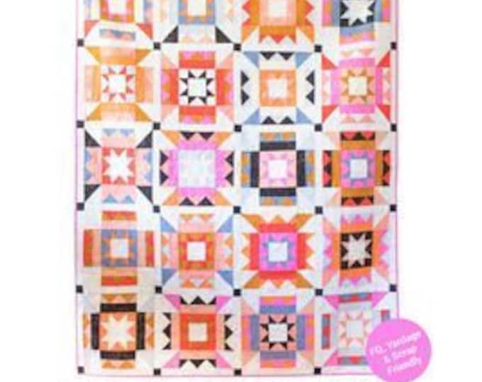 Nova Star Quilt Pattern for Then Came June