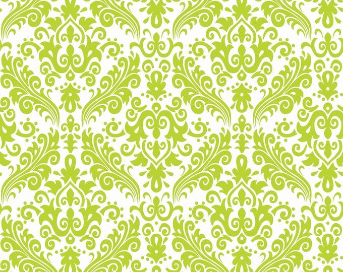 Lime Damask Basic for Riley Blake Designs