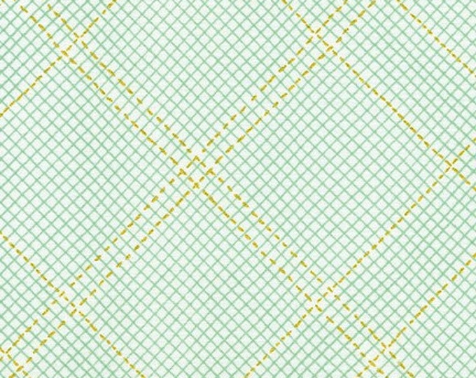 SEAFOAM METALLIC Collection CF by Carolyn Friedlander for Robert Kaufman Fabrics