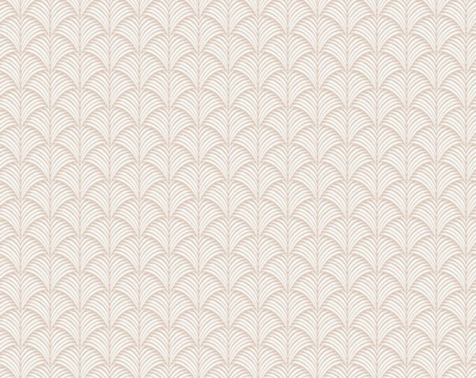 Loulu Fans Sand by Mister Domestic for Art Gallery Fabrics