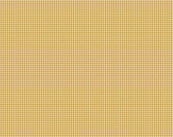 Golden Days Dot Mustard by Fancy Pants Designs for Riley Blake Fabrics