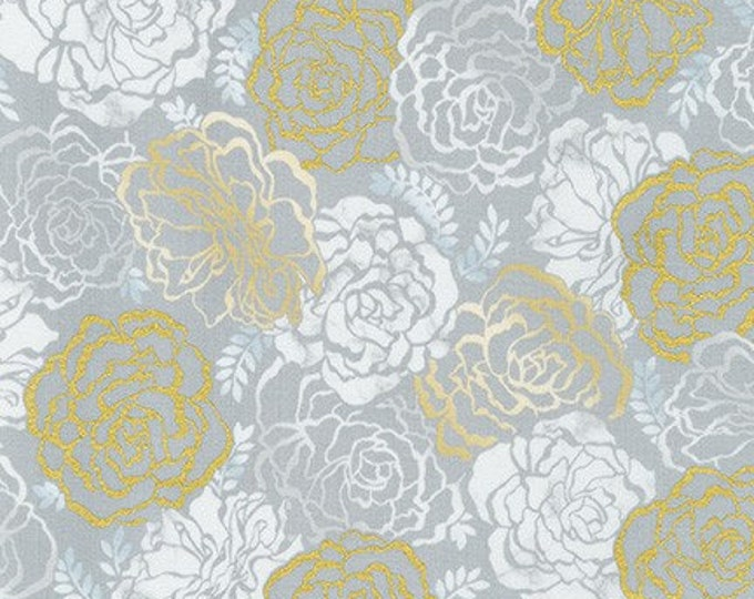 TAUPE  by Vanessa Lillrose & Linda Fitch from Silverstone for Robert Kaufman Fabrics