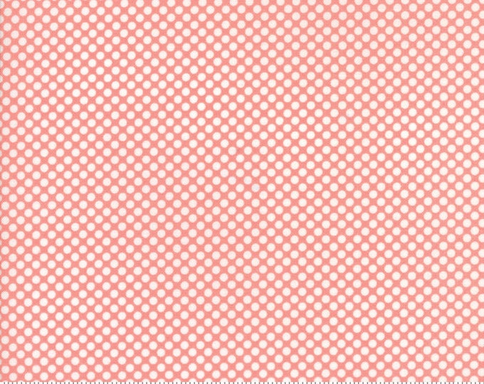 Vintage Holiday Pink FLANNEL by Bonnie & Camille for MODA