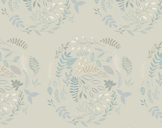 Wreathed Serenity by MAUREEN CRACKNELL by Art Gallery Fabrics