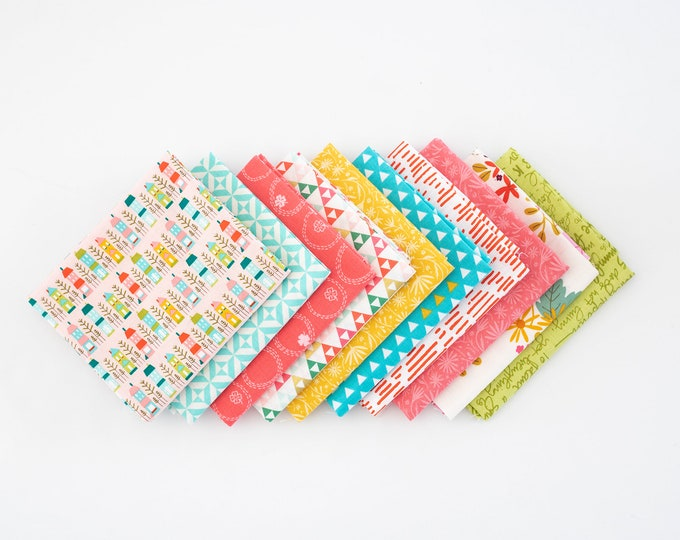 Tiny House Curated Fat Quarter Bundle